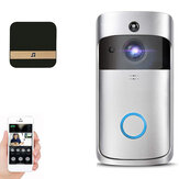 Wifi Smart Video Doorbell Intercom PIR Detection Camera Night Vision Cloud Storage