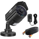 Hiseeu AHBB15 5MP Wired Security Camera Weatherproof CMOS 3.6mm Lens with IR Cut Night Vision CCTV PAL System