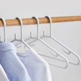 QUANGE 10 STÜCKE Kleiderbügel Kleidung Veranstalter Rutschfeste Wäscheständer Multifunktions U-Haken Feste Halterung Von Xiaomi Youpin