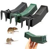 Herbruikbare plastic muizenval niet dodend Muisval Vangst Aas Vastleggen Humane muizen Knaagdier Hamsterkooi Ongediertebestrijding