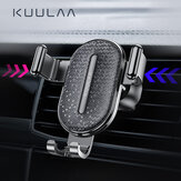 KUULAA Gravity Linkage Automatic Lock Air Vent Car Phone Holder for 4.0-6.5 Inch Smart Phone for iPhone