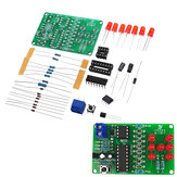 Electronic Dice Kit with Reverse Connection Protection LED Dice DIY Electronic Parts