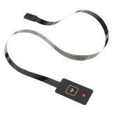 3 szt. Pojedynczy przycisk GPS Przełącznik czujnika membranowego 1 przycisk z lekką MCU rozszerzoną klawiaturą Panel PCV Akcesoria do majsterkowania