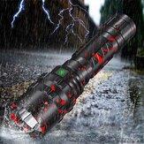 XANES 3320 P50 XHP50 1800Lumen USB-genopladelig LED-lommelygte med 26650 batteri