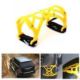 TPU Car Wheel Tire Snow Chain Anti-skid Belt Dual Hook 165-265mm for Car SUV Truck