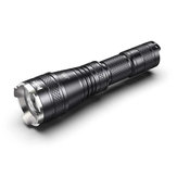 WUBEN L60 Zoomable Flashlight 1200 Lumens 5 Modes IP68 Waterproof USB Charging Torch Light Work Light