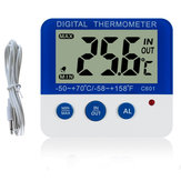 Household Indoor And Outdoor Digital Thermometers Home Refrigerator Pet Electronic Thermometer Frost Alarm