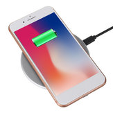 Bakeey 10W 7.5W Fast Ultra-thin Aluminum Alloy QI Wireless Charger for Mobile Phone
