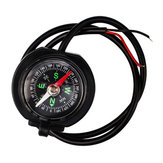 9V-24V 12V 2.5A Waterproof Motorcycle Phone USB Charger Compass Handlebar Rearview Mirror Universal