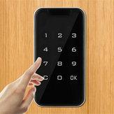 Elektronik Dijital Akıllı Şifre Anahtarsız Kapı Kilit Kod Tuş Takımı Dokunmatik Ekran