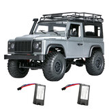 MN 99s 2.4G 1/12 4WD RTR Crawler RC Car Off-Road for Land Rover Models Modules with Two البطارية