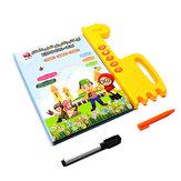 Malaysian English Languages Aprendizagem Eletrônica Máquina de Leitura Tablet Máquina de Aprendizagem Educação Infantil Lendo E-Book Toys for Kids