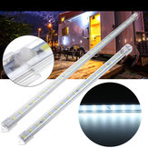 DC24V 30cm 50cm Cool White LED Interior Rigid Strip Light With Switch Bar Car Van Caravan Truck Boat