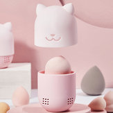 Beauty Powder Puff Blender Holder Sponge Makeup Egg D