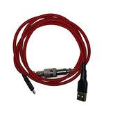Mecánico Teclado Cable Metropolis Conector Mechables Pulse V3 Bobina con revestimiento personalizado Type-C Cables USB Cable de extensión USB Conector
