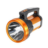 10000MAh Camping LED Searchlight Rechargeable Flashlight Spotlight