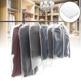 10xスーツトラベルガーメントバッグドレス収納服カバーコートジャケットジッパー