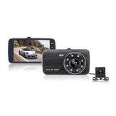 4 дюймов Авто Видеорегистратор С вид сзади камера Ночная версия 1080p Мониторинг парковки G-senor 170 ° Широкоугольный