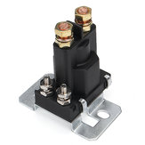4 Pin 12V 500A Relay Car Starter On / Off Power Switch Dual Bateria Isolator Black