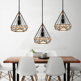 Retro Creative Diamond Pendant Light Ceiling Lights Lighting Chandelier Decor