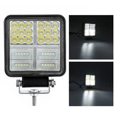Square 114W 38 LED Work Light 12V 24V Off Road Spot Lamp For Car SUV Trailer Wall Lamp