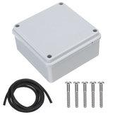 Boîtier de boîte de jonction adaptative industrielle extérieure en plastique PVC IP65 étanche