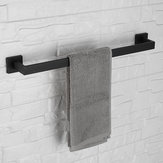 5Types Matte Black Wall Towel Hook Holder Rails Racks Bar Stainless Steel Towel Holder