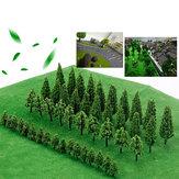 Árvores Modelo Trem Ferrovia Ferrovia Wargame Diorama Cenário Paisagem Decorações