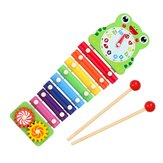 Hand Knocking Piano Musical Hand Xylophone Orff Musical Instruments Early Education Enlightenment Instrument for Children