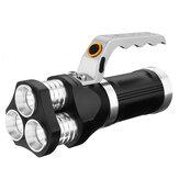 3xT6 LED المصباح التكتيكي الأضواء الكشاف الشعلة ضوء الصيد الصيد