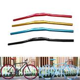 620mm Dia. 31.8mm Aluminium Alloy Ultra Lightweight Bicycle Mountain Bike Handlebar Flat Riser Bar For Fixed Gear Bikes