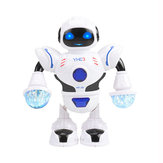 YH Smart RC Robot Toy Sliding Dance Sing Robot Gift For Children
