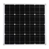 60W Mono Panel Solar USB 12V Painéis de energia solar para carro RV Boat Bateria Carregador