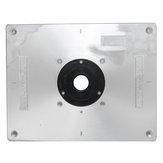 Aluminium routertafelinlegplaat 235 mm x 300 mm x 8 mm voor houten werkbanken