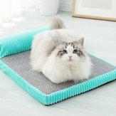 Memory Cotton Gato Cama Alfombrilla para mascotas Extraíble y lavable Perrera Mediana Grande Perro Gato Cama Perro Nido