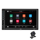7 дюймов 2 Din N6 For Wince Авто Радио Stereo MP5 Player 1 + 16G Bluetooth GPS Сенсорный экран HD NAV FM AUX USB с видом сзади камера