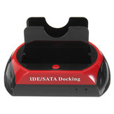 Docking station per hard disk IDE SATA da 2,5 '' 3,5 '' Lettore di schede TF TF Dock per hard disk Dock per docking station multifunzione per Mac Custodia per disco rigido Spina UK