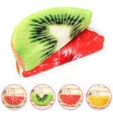Semi-Circular Watermelon Grapefruit Orange Kiwifruit Simulation Fruit Plush Doll Summer Relief Nap Pillow Toys