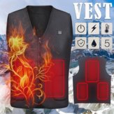 Heren Vrouwen Ouderen USB Opladen Smart Verwarming Vest Indoor Outdoor Winterwarmte Koudbestendig vest