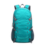 40L Folding Climbing Backpack Waterproof Nylon Sports Travel Hiking Shoulder Bag Unisex Rucksack
