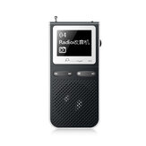 IQQ A2 8GB MP3 Player with Loud Speak External Sound 100 Hours Standby Support FM Radio TF Card Expand Up to 128GB