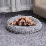Зимний Моющийся Круглый Soft Pet Собака Кот Теплый Коврик Спальный Коврик