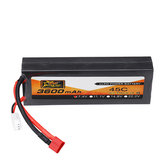ZOP Power 7.4V 3600mAh 45C 2S Lipo Battery T Plug for 1/8 1/10 RC Car