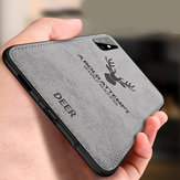 BAKEEY Deer Classic Canvas Cloth Shockproof TPU Protective Case for Samsung Galaxy S20+ / Galaxy S20 Plus