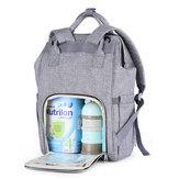 पॉलिएस्टर मम्मी बैग डायपर हैंडबैग आउटडोर यात्रा भंडारण बैग बड़ी क्षमता बेबी बदलते बैग