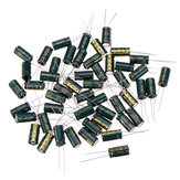 50Pcs 35V 1000UF 10 x 20MM High Frequency Low ESR Radial Electrolytic Capacitor