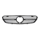 Black Diamond Front Grille Grill For Mercedes Benz GLC W/X253 GLC300 GLC350 2015-2019