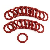 20PCS O Rubber Ring Propeller Protector 21mm x 15mm x 3mm For RC Airplane