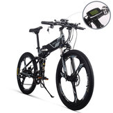 [EU Direct] RICH BIT TOP-860 12.8AH 36V 250W 26inch Folding Moped Electric Bike 35km/h Top Speed 35-40km/h Mileage Range Cycling Mountain Bike