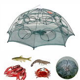 Zanlure 4/6/8/10/12/16/20 Hole Automatic Fishing Trap Folding Nylon Fishing Net For Fish Eel Crab Shrimp Trap
